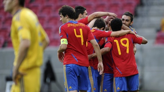 Ukraine - Spain reacciones