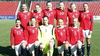 Norway WU-17 squad photo
