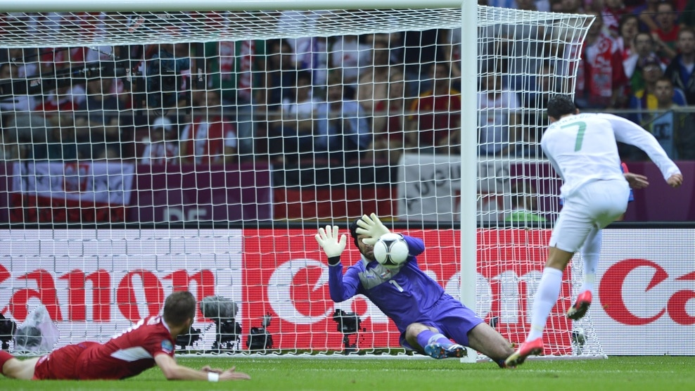 R. Checa 0 - 1 Portugal | UEFA EURO 2012 | Cuartos de Final