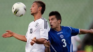 Moritz Leitner (Germany) & Josip Kvesić (Bosnia and Herzegovina)