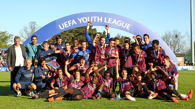 La UEFA Youth League brilla más