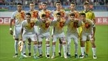 The Spain players