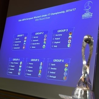 2016/17 UEFA European Women's Under-17 Championship - Elite Round Draw