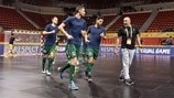 UEFA Futsal Cup 2018 Third Place Play-Off - Gyor v Barcelona