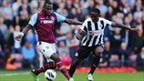 Guy Demel (West Ham United FC) & Mapou Yanga-Mbiwa (Newcastle United FC)