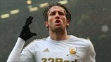 Michu of Swansea City AFC