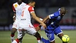 Jordan Loties (AS Nancy-Lorraine) & Anthony Modeste (SC Bastia)