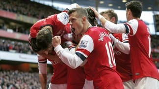 Arsenal y City siguen su pulso