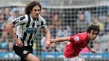 Fabricio Coloccini (Newcastle United FC) & Fabio (Cardiff City AFC)