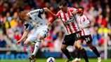 Jay Fulton (Swansea City AFC) & Adam Johnson (Sunderland AFC)