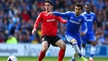 Peter Whittingham (Cardiff City AFC) & Mohamed Salah (Chelsea FC)