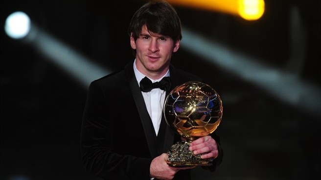 Lionel Messi gana el FIFA Ballon d'Or