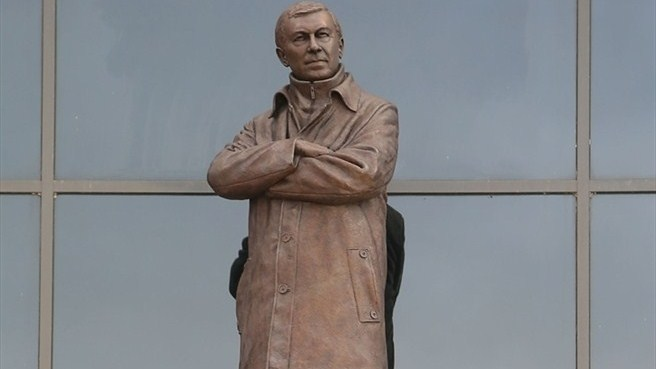 Sir Alex, inmortalizado en Old Trafford