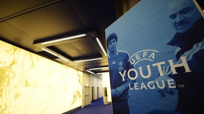 Todo listo para la UEFA Youth League