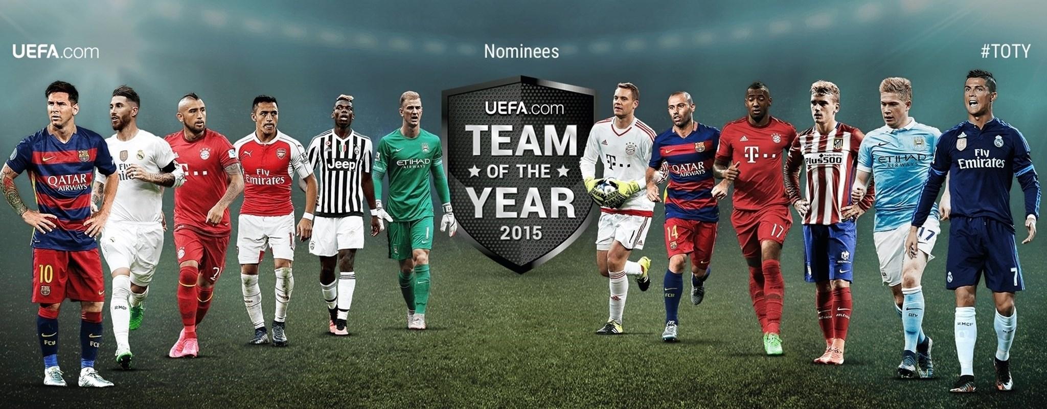 Vote a su Equipo del Año 2015