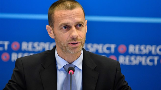 Aleksander Čeferin - UEFA Executive Committee in Cardiff