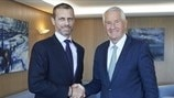 UEFA and the Council of Europe sign Memorandum of Understanding