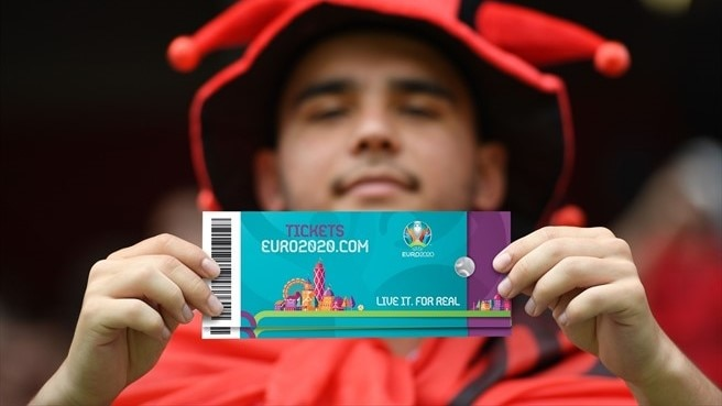 EURO 2020 ticketing