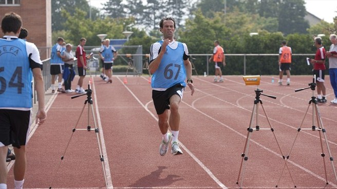 Referees summer gathering 2012 - fitness test